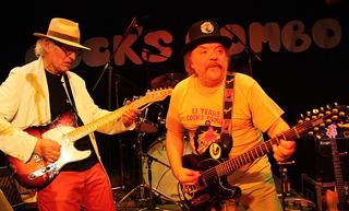 Cocks Combo mit gitarrenlehrer ede schnur
