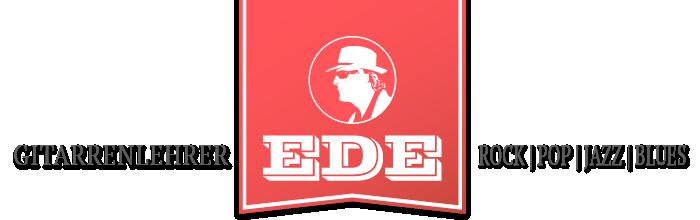 Ede Schnur – Gitarrenlehrer für Rock Pop Blues und Jazz